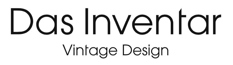 Das Inventar - Vintage Design